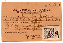 Carte Cheftaine Bar Le Duc Guides De France - Cartes