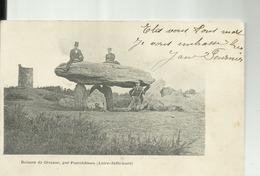D44 - Dolmen De CROSSAC, Par PONTCHATEAU   - PRECURSEUR 1902 - Pontchâteau