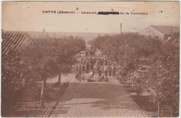 CETTE / SETE (34) - LAZARET DE LA CORNICHE - Sete (Cette)