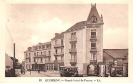 56-QUIBERON- GRAND HÔTEL DE FRANCE - Quiberon