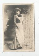 Cp , SPECTACLE , Artiste , MARIETTE SULLY , Dos Simple , Voyagée 1904 - Artistes