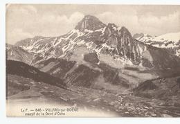 Haute Savoie - 74 - Villard Sur Boege Massif De La Dent D'oche - France