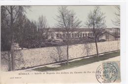 Aube - Romilly - Scierie Et Magasin Des Ateliers Du Chemin De Fer De L'Est - Romilly-sur-Seine
