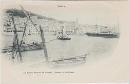 CETTE / SETE (34) - LA SANTE - ENTREE DU CHENAL - CLOCHER DE SAINT LOUIS - Sete (Cette)