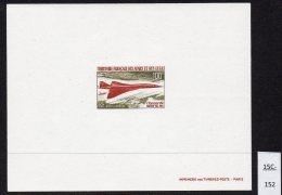 Afars & Issas 1969 Concorde Epreuve De Luxe ( Proo F ) – Lollini C1 Unlisted As An épreuve. - Concorde