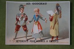 Maison Ad. GODCHAU - Lot De 6 Belles Chromos - Série La Marjolaine - Imp. Eug. Hamelin Vers 1880 - Altri