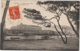CETTE / SETE (34) - LE PONT DE LA GARE - ENTREE DE LA VILLE - Sete (Cette)