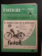 L'officiel Du Cycle Du Motocycle - 15 Mai 1955 N0 10 - Auto/Moto