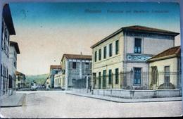 MESSINA-PALAZZINE DEL QUARTIERE LOMBARDO 1921 - Messina