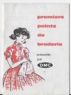 Premiers Points De Broderie Par DMC - Littérature