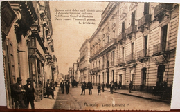 ACIREALE CATANIA CORSO UMBERTO UMBERTO I° ANIMATA 1920 - Catania