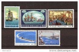 Grecia 1969. Yvert 988-92 ** MNH. - Greece