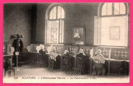 Allevard - L'Établissement Thermal - Les Pulvérisations - Bonnes Sœurs - L.L. - Dos Vert - Allevard