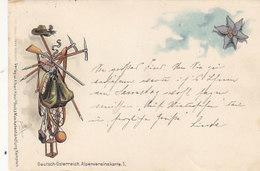Deutsch-Oesterreichische Alpenvereinskarte 1 - Litho 1900   (A32-150317) - Alpinismo