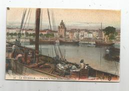 Cp , Bateau De Pêche , 17 , LA ROCHELLE , Vue Dans Le Vieux Bassin , écrite 1916 - Pêche