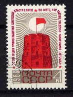 RUSSIE - 3394° - CINQUANTENAIRE DU SOCIALISME EN LITHUANIE