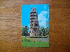"""états-unis , Illinois , Niles , The Leaning Tower Y.m.c.a. """""""" Beaux Timbres """""""" - Etats-Unis"""