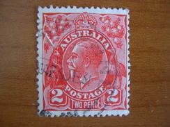 Australie N° 26 Obl - 1913-36 George V: Heads