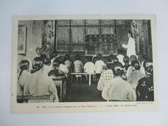 CPA ASIE ILE DE FORMOSE CLASSE DANS UN ORPHELINAT - Formosa
