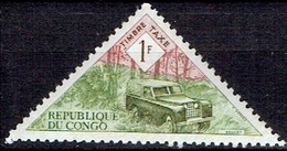 CONGO # POSTAGE DUE  FROM 1961   ** - Congo - Brazzaville
