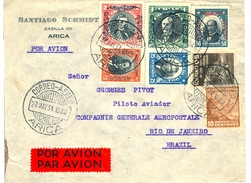 CGA Lettre Avion Arica-Rio Pour Pilote Pivot - Kommerzielle Luftfahrt