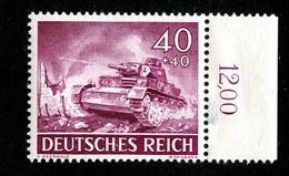 15774  Reich 1943  Michel #841*  ( Cat 1.25€ ) Offers Welcome - Deutschland