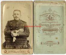 CDV Soldat Du 29e Régiment- Photographie Militaire Octave Locart Ex Paul à Mourmelon - Guerre, Militaire