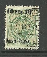 POLEN Poland 1918 Michel 3 O
