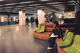Train RATP Rer Gare De Lyon Rame MS - Stations With Trains