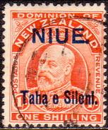 NIUE 1911 SG 19 1sh Used CV £48 - Niue