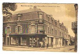 CPSM 14 BLONVILLE SUR MER Le Neptune Hotel - France