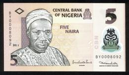 Nigeria 2011, 5 Naira - UNC - BY0008092 - Nigeria