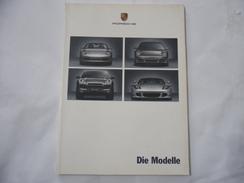 PORSCHE MODELLI VARI DIE MODELLE LIBRO BOOK MANUALE 2004. - Automobili & Trasporti