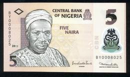 Nigeria 2011, 5 Naira - UNC - BY0008025 - Nigeria