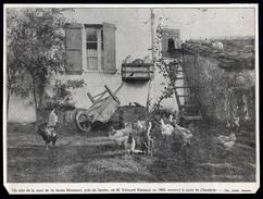 1905  --  PAYS BASQUE 64  --   UN COIN DE COUR DE LA FERME DE MIREMONT PRES CAMBO  EDMOND ROSTAND   3L.984 - Old Paper