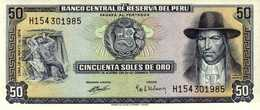 PEROU  50 SOLES DE ORO Du 16-5-1974 Pick 101c UNC/NEUF - Peru