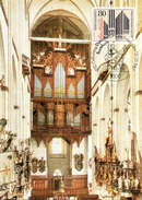 """BRD Maximumkarte """"350.Geburtstag Von Dietrich Buxtehude"""" Mi 1323 ESSt 5.5.1987 BONN 1 - BRD"""