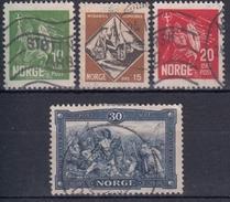 NORUEGA 1930 Nº 147/50 USADO - Noruega