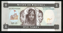Eritrea 1997, 1 Nakfa - UNC - AN 6349486 - Erythrée