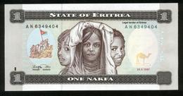 Eritrea 1997, 1 Nakfa - UNC - AN 6349404 - Eritrea