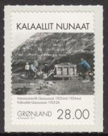 Greenland MNH 2011 Scott #602 28k Miners, Mining Car - Mining In Greenland - Minéraux
