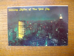 états-unis , New York City , Glittering Panorama Of The New York City , Skyline - Multi-vues, Vues Panoramiques