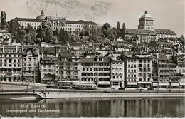CPA-1955-SUISSE-ZURICH-LIMMATQUAI-TBE - ZH Zurich
