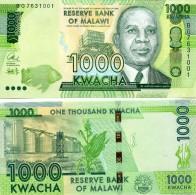 MALAWI 2016 1000 Kwacha P 62 UNC - Malawi