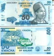 MALAWI 50 Kwacha 2012 **UNC** - Malawi