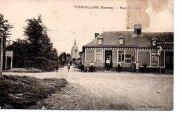 FIENVILLERS : Rue Des Juifs  - Ecrite - TBE - Hornoy Le Bourg