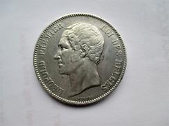 Belgie 5 Francs 1865 Leop I - 1831-1865: Leopold I