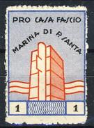 Erinnofili, Italia 193?, Pro Casa Del Fascio Marina Di Pietrasanta L. 1 - Italia
