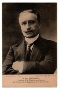POLITIQUE . PAUL DESCHANEL élu Président De La République Le 17 Janvier 1920 - Réf. N°711 - - Personajes