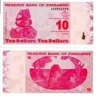 Z_mb_we 10 Dollars ** UNC ** - Zimbabwe